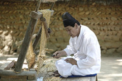 Korean traditional artisan. Stock Image