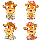 Korean traditional bulls Event activities. New Year Character De Royalty Free Stock Photography