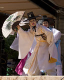 Korean Traditional Dancers Stock Photography