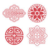 Korean traditional design elements Stock Photo
