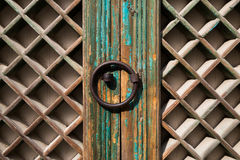 Free Korean Traditional Door - Bulguksa Temple UNESCO World Heritage In Gyeongju, Korea Royalty Free Stock Photography - 97738747