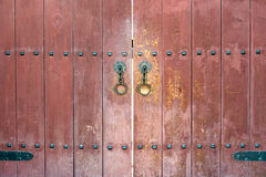 Korean traditional door Stock Image