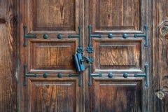 Korean traditional door Royalty Free Stock Image