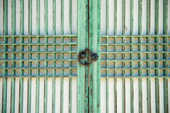 Korean traditional door Stock Photo