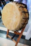 Korean traditional drum Royalty Free Stock Photos