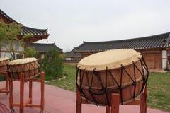 Korean traditional drum Stock Image