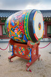 Korean traditional drum Royalty Free Stock Images