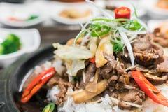 .Korean traditional food. Korean traditional food stock photo