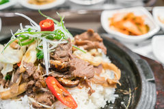 .Korean traditional food stock images