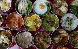 Korean Traditional Food. A sample of traditional Korean food Stock Photo