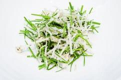 Korean traditional fresh vegetable salad Stock Photography
