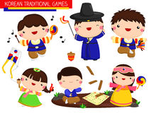 Korean traditional game Royalty Free Stock Image