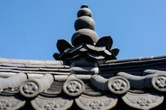 Korean Traditional Garden Pagoda is similar to pavilion.  royalty free stock photo