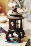Korean traditional lamp for interior Royalty Free Stock Photography