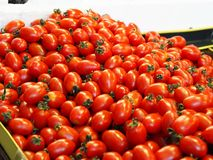 Traditional Market Fruits and Vegetables, tomato stock photo