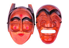 Korean traditional mask Stock Image