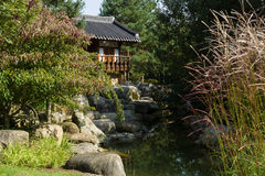 Korean traditional old house. Stock Image