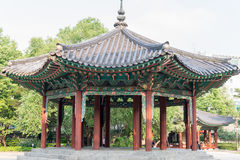 Korean Traditional pavilion stock photography