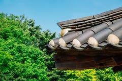 Korean traditional roof at Gyodong Hyanggyo Confucian School in Ganghwa-gun, Incheon, Korea