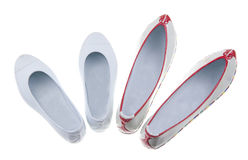 Korean traditional rubber shoes Stock Photo