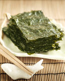 Korean traditional seaweed Stock Photos