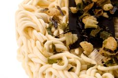 Korean Udon noodles Stock Photo