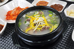 Korean vegetable soup Royalty Free Stock Photo