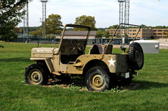 Korean war era Jeep Stock Photo