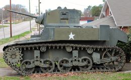 Korean War Era Military Tank Stock Photography
