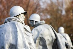 Korean War Memorial Royalty Free Stock Photos