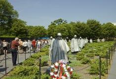 Korean War Memorial Stock Photography