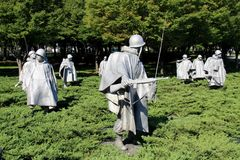 Korean War Memorial 1953 Royalty Free Stock Photography