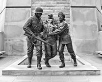 Korean War Memorial. In Atlantic City, NJ stock photography