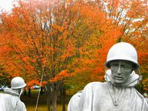 Korean War Memorial Lizenzfreie Stockfotografie