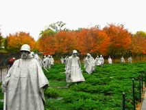 Korean War Memorial Stockfoto
