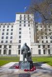 Korean War Memorial in London Stock Photography