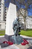 Korean War Memorial in London Stock Images