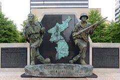 Korean War Memorial, Nashville, TN, USA royalty free stock photo