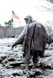 Korean War memorial. Nice day out when it Stock Photos