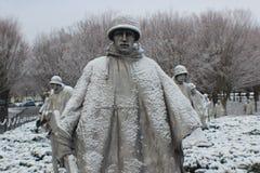 Korean War memorial Royalty Free Stock Image