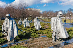 Korean War Memorial Royalty Free Stock Images