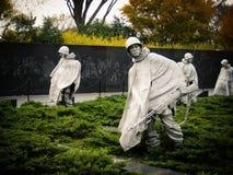 Korean War Memorial in Washington D.C. Royalty Free Stock Photo