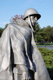 Korean War Memorial, Washington DC. A patrol of American soldiers like a patrol of ghosts on the National Mall in Washington DC Stock Photography