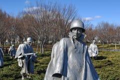 Korean War Memorial Stock Images