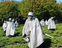 Korean War Memorial Stock Images