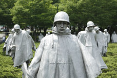 Korean war memorial Stock Photos