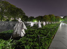 Korean War Memorial, Washington, DC Stock Photo