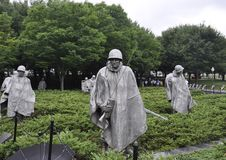 Washington DC,July 5th: Korean War Memorial from Washington District of Columbia USA Stock Photos