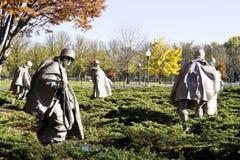 Korean War Memorial Stock Photos