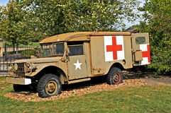 Korean war military ambulance Royalty Free Stock Images